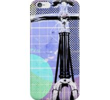 Cycling Mixed Media Illustration iPhone Case/Skin