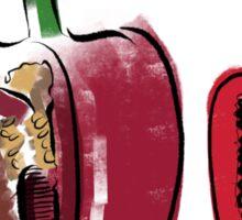 Red pepper Sticker
