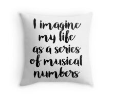 Life as a Musical Throw Pillow