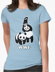 WWF Chair Funny Womens Fitted T-Shirt