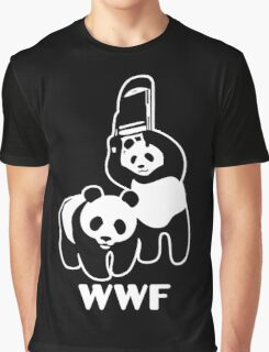 WWF Chair Funny Graphic T-Shirt