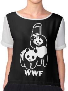 WWF Chair Funny Chiffon Top