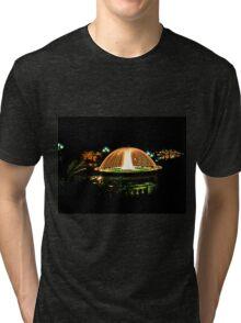 Fountain In Monte Carlo Tri-blend T-Shirt