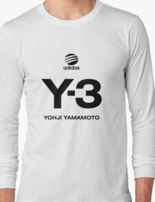 Yohji Yamamoto Y-3 Long Sleeve T-Shirt