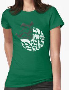 25% Bats! (light version) Womens Fitted T-Shirt