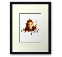 Doctor Who - Clara the Impossible Girl Framed Print