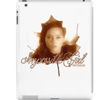 Doctor Who - Clara the Impossible Girl iPad Case/Skin
