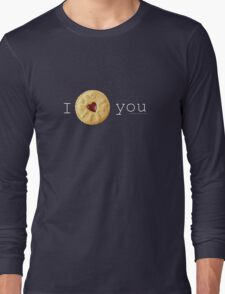 I Love you (Jammie Dodger) Doctor Who T-Shirt