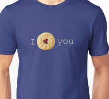 I Love you (Jammie Dodger) Doctor Who Unisex T-Shirt