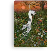 The Last Dance at Sunset Canvas Print