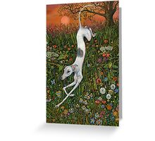 The Last Dance at Sunset Greeting Card