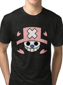chopper one piece Tri-blend T-Shirt