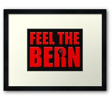 Bernie Revolution Framed Print