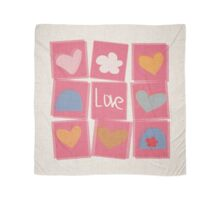 Love Stickers Scarf