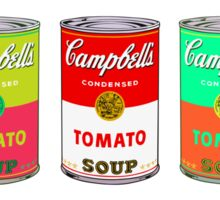 Campbell's Soup Andy Warhol Sticker