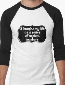 Musical life Men's Baseball ¾ T-Shirt