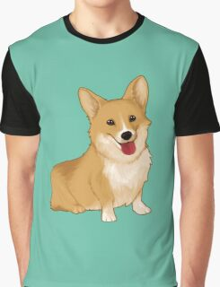 Cute smiling corgi Graphic T-Shirt