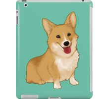 Cute smiling corgi iPad Case/Skin