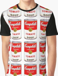 Campbell's Soup Andy Warhol Graphic T-Shirt
