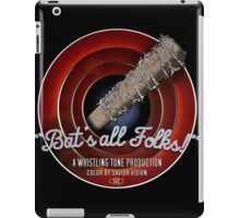 Bat's All Folks! iPad Case/Skin