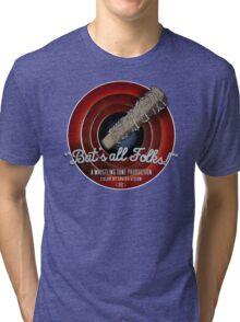 Bat's All Folks! Tri-blend T-Shirt