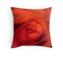 A Rose of Tranquility Throw Pillow
