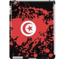 Tunisia Flag Ink Splatter iPad Case/Skin