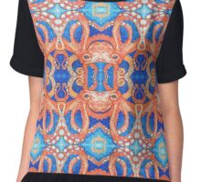 Octopus drawing - 2015 Chiffon Top