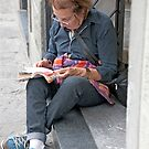 Reading Up...... by phil decocco