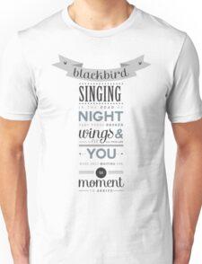 Blackbird - The Beatles Unisex T-Shirt