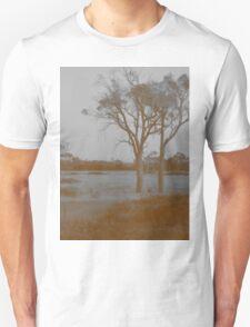 Countryside - Sepia Unisex T-Shirt