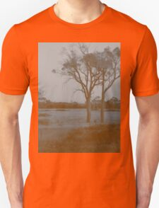 Countryside - Sepia Unisex T-Shirt