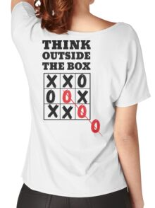 Think outside the box Women's Relaxed Fit T-Shirt