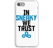 In Sneaky we trust iPhone Case/Skin