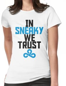 In Sneaky we trust Womens Fitted T-Shirt