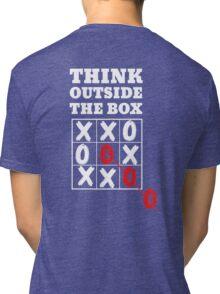 Think outside the box Tri-blend T-Shirt