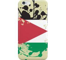 Jordan Flag Ink Splatter iPhone Case/Skin