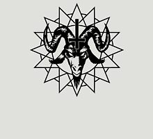 Satanic Goat Head with Chaos Star (black) Unisex T-Shirt