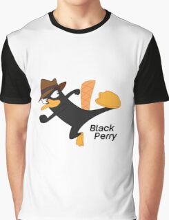 Black Perry Graphic T-Shirt