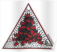 King Jean Michel Basquiat Poster