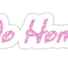 no homo Sticker