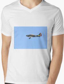 Flying Fairchild PT-26B Cornell-Single Engine Trainer  Mens V-Neck T-Shirt