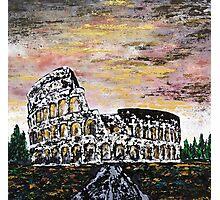 Colosseum - rome Photographic Print