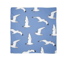 Seagulls Gathering at the Cricket Scarf