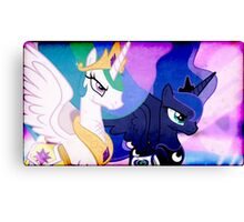 CELESTIA & LUNA TAKE ON DISCORD Canvas Print