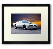 1970 Pontiac Firebird Trans Am 455 HO Framed Print