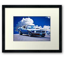 1970 Ford Mustang Fastback Framed Print