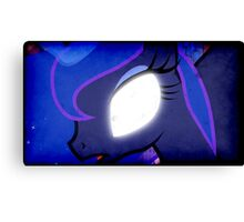 SCARY LUNA Canvas Print