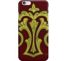 Showland Scroll - red iPhone Case/Skin