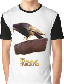 The crow of The Magic of Ireland Graphic T-Shirt